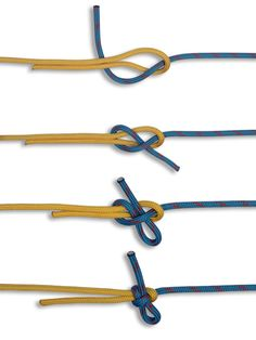 How to tie a Slipped Sheet Bend