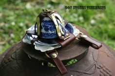 Steampunk Teacup Holster by DocStonesTinkering on Etsy