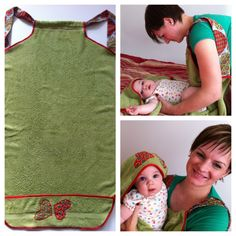 2:1 Bath towel for babies and mom from decor factory http://decor-factory.com