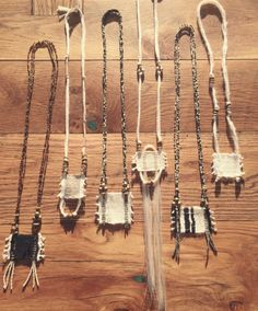 Necklaces by The Ghost Dancer