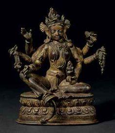 a_gilt_bronze_figure_of_vasudhara_nepal_kathmandu_valley_1180-89_d5417118h.jpg (295×340)