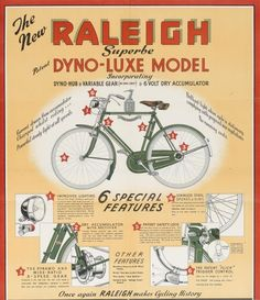 Raleigh bikes have been engineering & manufacturing best in class bikes for over 129 years. Make your next bike a Raleigh bike. Velo Retro, Retro Bicycle, Old Bicycle, Old Bikes, Raleigh Bicycle, Raleigh Bikes, Vintage Cycles, Vintage Bikes, Vintage Advertising Posters