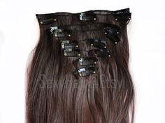 Hey, I found this really awesome Etsy listing at https://www.etsy.com/listing/126824999/24-medium-brown-hair-extension-full-head