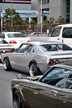 Skyline GTR... Visit us at www.rvinyl.com to see 100s of great #Tuner Accessories and get the #JDM look. Classic Japanese Cars, Japanese Sports Cars, Classic Cars, Tuner Cars, Jdm Cars, Nissan Gtr Skyline, Japan Cars, Import Cars, Performance Cars