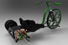 My idea on a Motorized Drift Trike - Other - 3D CAD model - GrabCAD