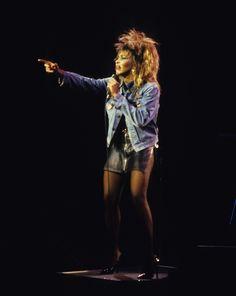 Tina Turner, Private Dancer Tour, 1985