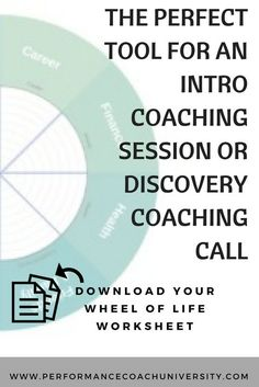 [Coaching Tool] The wheel of life is one of the most versatile and widely used coaching tools to get a great idea and overview of where someone is at in life – overall. Check out how to use the Wheel of Life Coaching Tool. Systemisches Coaching, Coaching Questions, Life Coaching Tools, Online Coaching, Business Coaching, Business Tips, Coaching Techniques, Marketing Techniques, Online Business