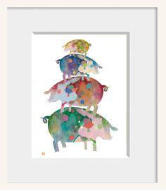 What cheerful artwork!