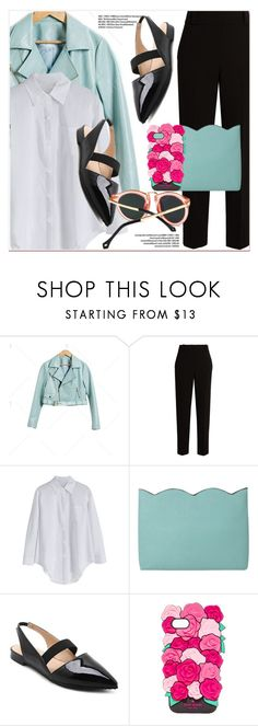 """Light blue and black"" by paculi ❤ liked on Polyvore featuring The Row and Kate Spade"