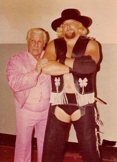 Freddie Blassie & Stan Hansen