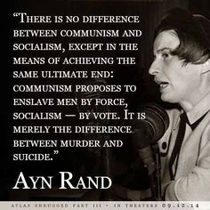 Ayn Rand on the difference between communism and socialism. Ayn Rand, Great Quotes, Me Quotes, Funny Quotes, Pseudo Science, Atlas Shrugged, Out Of Touch, Conservative Politics, Truth Hurts