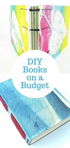 10 Tips for Creating Handmade Books on a Budget - Earn Money Handmade Notebook, Handmade Journals, Handmade Books, Handmade Bookmarks, Handmade Bracelets, Homemade Journal, Bookbinding Tutorial, Book Journal, Art Journals