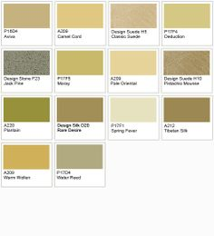 Dulux green neutral palette