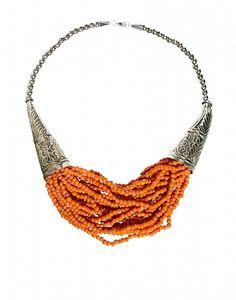 Sam Ubhi Statement Beaded Necklace