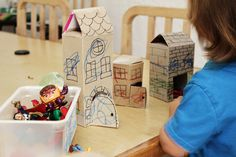 seven thirty three - - - a creative blog: Fun Kids Project using Paper