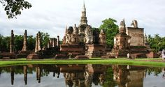 """Sukhothai was named """"the dawn of happiness"""" by its rulers. Visit to the friendly people of Amazing Thailand"""