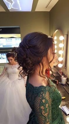 Kına ve Nişan Saç modelleri  http://www.basakkuaformakyaj.com/