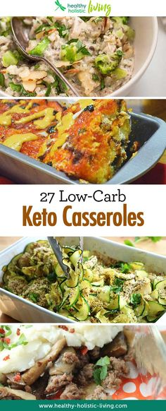 This list of low-carb-diet-approved casseroles make meal planning for keto a cinch. Great for beginners! #healthyrecipes #healthyliving #recipe recipe