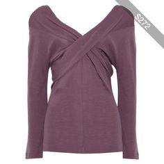 Alberta Ferretti Twisted woven sweater