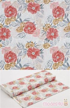 """navy blue cotton fabric with alpacas, cactus plants, mini flowers, Material: 100% cotton, Fabric Type: smooth cotton fabric, Pattern Repeat: ca. 21cm (8.2"""") #Cotton #Flower #Leaf #Plants #USAFabrics"""