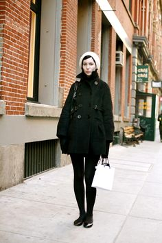 On The Street…. Soho, New York « The Sartorialist  short and simple..