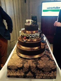 Delicious cake grom coffe contest