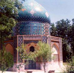 tomb of Attar in Neyshabur near Meshed, Iran, 1974
