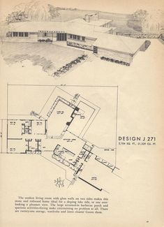 Vintage House Plans J271