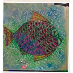 Inspirational Coloring Pages by Julia Nishimura @juliasnf #inspiração #coloringbooks #livrosdecolorir #jardimsecreto #secretgarden #florestaencantada #enchantedforest #reinoanimal #animalkingdom #adultcoloring #johannabasford #lostocean #oceanoperdido