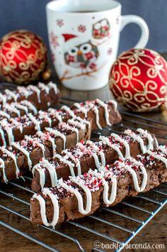 Chocolate Peppermint Biscotti