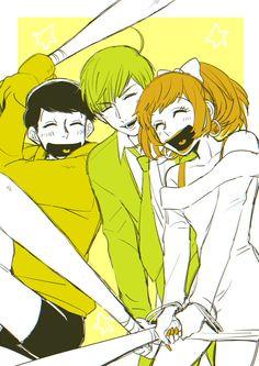 Osomatsu-san: Jyushimatsu, Jyushiko and Jyushimatsu All Anime, Anime Love, Anime Art, Anime Stuff, Yolo, Anime Amino, Otaku, Osomatsu San Doujinshi, Future Boy