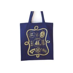 Mellybee Ship Shape Canvas Bag (£8) ❤ liked on Polyvore featuring bags, handbags, tote bags, blue canvas tote bag, nautical purse, canvas tote bag, nautical tote and blue tote