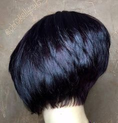 Black Stacked Bob                                                                                                                                                     More