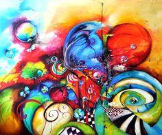 Oil painting - Obraz olejny - [Anna Sarbok] - Pracownia Plastyczna Inkluz - ręcznie