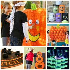 30  HALLOWEEN GAME IDEAS FOR KIDS- these are so cool!  Pin for later