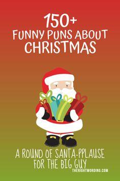 Fa-La-La-Fantastic Christmas Puns That Will Sleigh The Competition Christmas Tree Puns, Holiday Puns, Funny Christmas Puns, Christmas Sentiments, Kids Christmas, Puns Jokes, Funny Puns