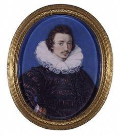 Self-portrait Isaac Oliver, painter,c1590