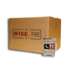 "Wise Fire is a great fire starter. Wise Fire Pouches in a Box boils 60 cups of water; Wise Fire does not contain any harmful chemicals or vapors, a perfect choice for people, food and the environment. 15 pouches.  • Safe to store - 25 year shelf life and stores safely near food • Easy to light - Burns in wind, rain, sleet or snow. • Burns ""green"" - no harmful chemicals • Grab and go - Lightweight  • WiseFires's leftover ash is a natural fertilizer. • Non-volatile. • Optimal fire starter"