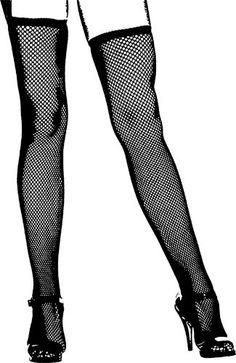 Ladies Legs Black High Heel Shoes Black And White Art Printables