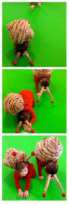 polžje dirke (snail costume based on DIY from ohhappyday.com)