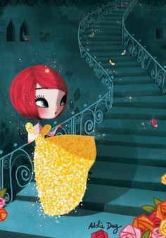 Adolie Day Illustration pour la prochaine collection de La Marelle édition  papeterie