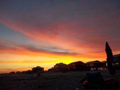 Sunset on the beach (Gulf Shores, Alabama)