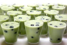 Green Milk Tea Jello