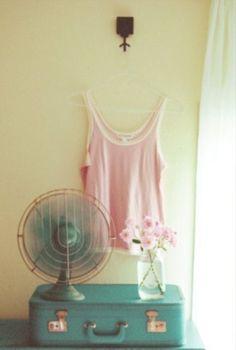 Turquoise & pink. Inspiration vintage