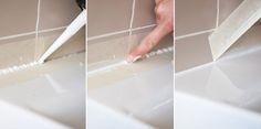 Truco: Cómo aplicar silicona en el lavabo y conseguir un resultado profesional : x4duros.com
