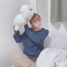 azukiさんはInstagramを利用しています:「🐶☁️     #MAMBO #マンボ #claska #本物の子犬みたい #ぬいぐるみ買いすぎ #でも癒し」