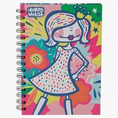 Acid Jazz Little Princess Spiral Notebook House Illustration, Illustrations, Acid Jazz, Happy House, School Essentials, Baby Shop, Little Princess, A5, Spiral