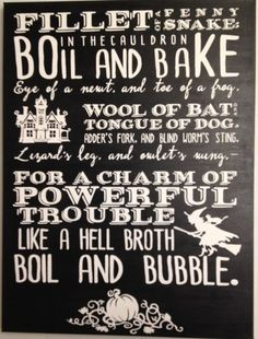 Classic Shakespearian Halloween Wall Art