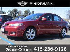 2009 *Mazda*  *Mazda3* *i*  144k miles Call for Price 144941 miles 415-236-9128 Transmission: Automatic  #Mazda #Mazda3 #used #cars #MINIofMarin #CorteMadera #CA #tapcars