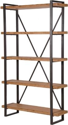 Highbury Industrial Narrow Shelving Unit by Alexander and Pearl